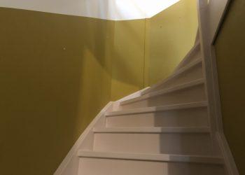 voorbeeld schilderwerk trap